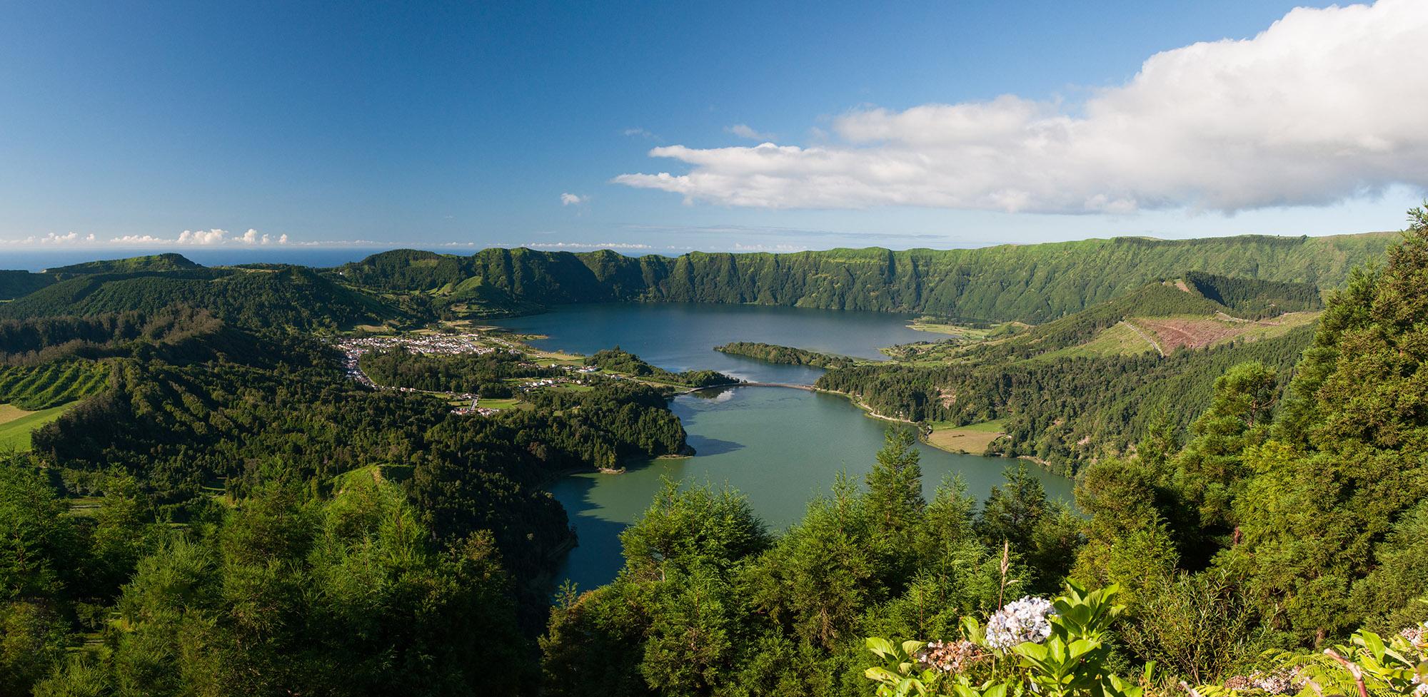 Azores São Miguel Sete Cidades