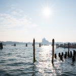 Vue de la Pointe de la Douane à Venise