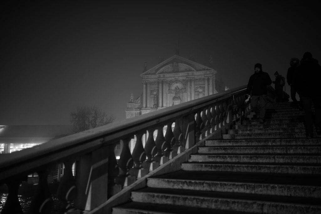 Venise dans la brume - Pont des Déchaussés