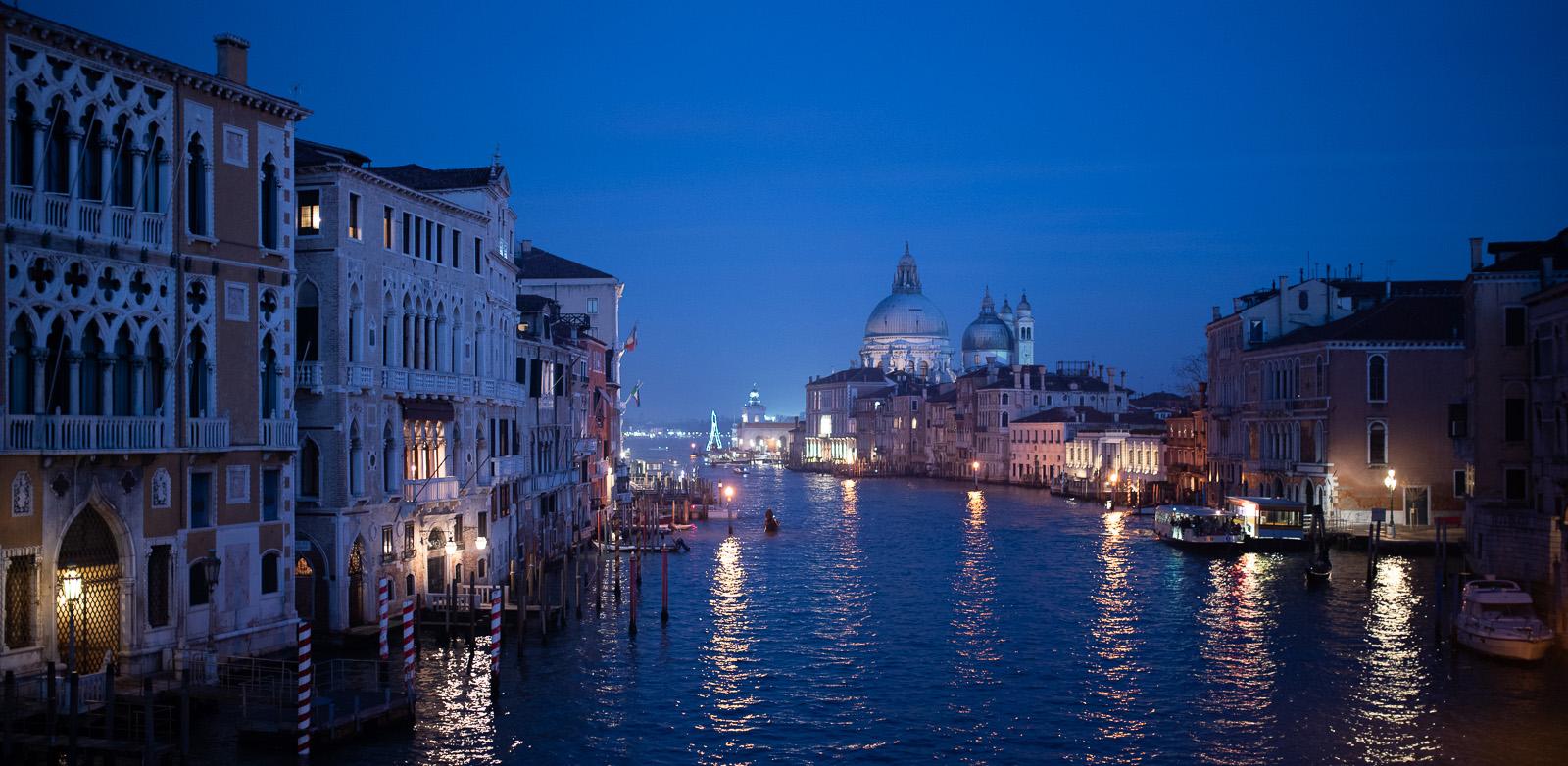 Venise - Grand Canal de nuit