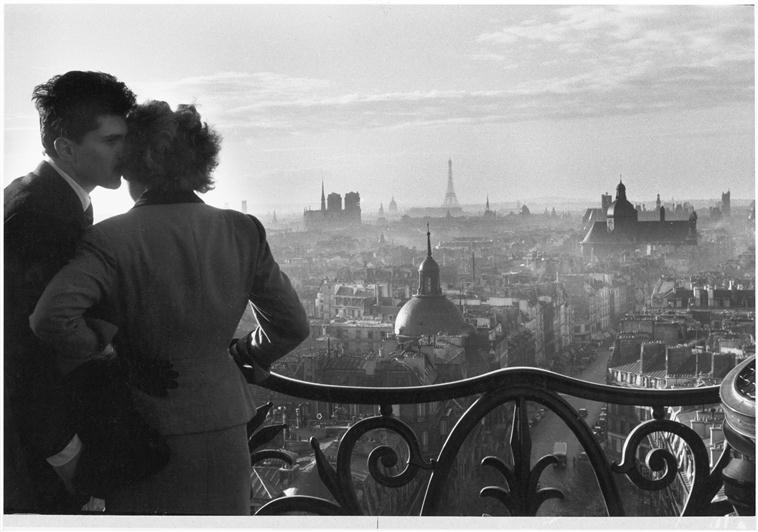 Les amoureux de la Bastille, Willy Ronis à Venise