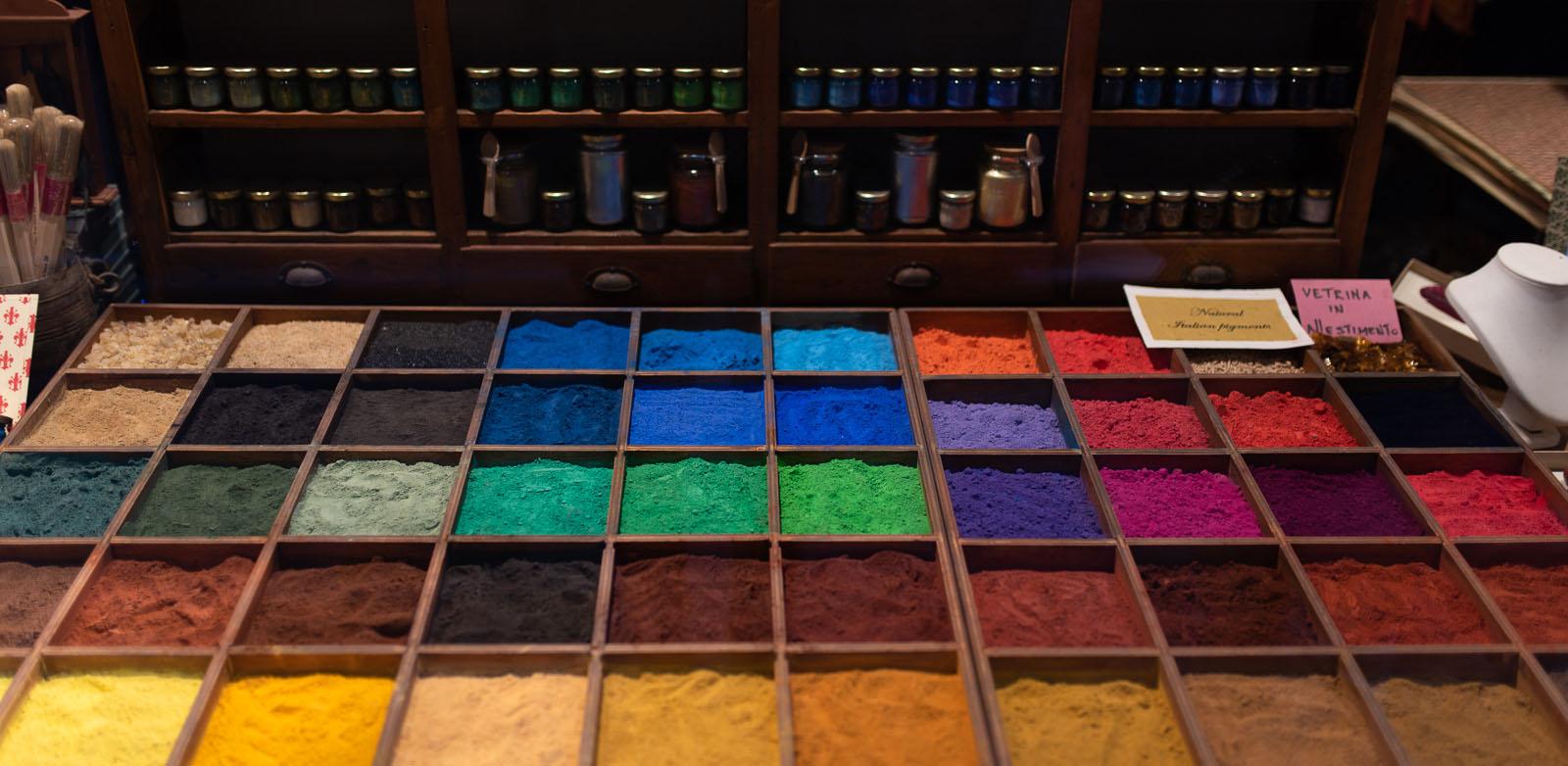 Marchand de couleur à Venise